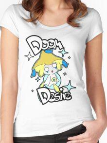 Doom Desire Women's Fitted Scoop T-Shirt