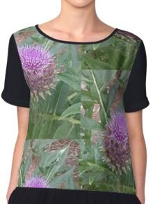 Flowering Artichoke - Full Bloom Chiffon Top