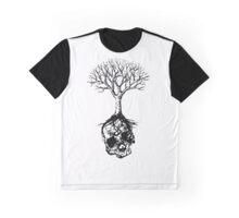 Skull and Tree Graphic T-Shirt Graphic T-Shirt
