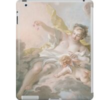Francois Boucher - Aurora And Cephalus 1769. Lovers portrait: sensual woman, woman and man, kiss, kissing lovers, love relations, lovely couple, family, valentine's day, sexy, romance, female and male iPad Case/Skin