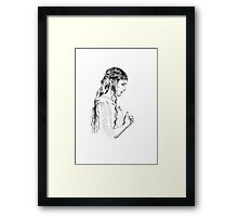 Galadriel, most beautiful of all the house of Finwe.  Framed Print