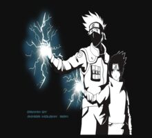 Kakashi and Sasuke by Junior Mclean
