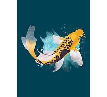Koi Splash Photographic Print
