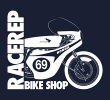 Honda RC163 Race Motorbike Logo by velocitygallery