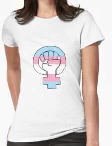 Feminist Pride - Trans Womens Fitted T-Shirt
