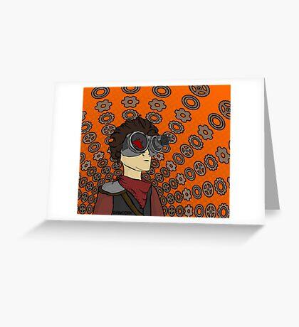 Professor Gyrus Greeting Card