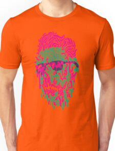 Shady Dripper: Pink and Green Colorway Unisex T-Shirt