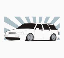 Passat Wagen Graphic Kids Tee
