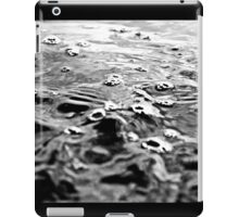 Black and White Ocean iPad Case/Skin