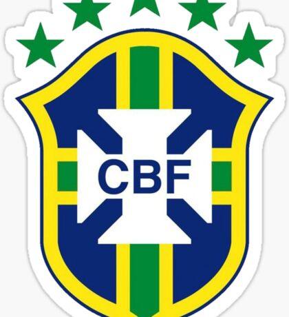 Brazil Soccer Logo Sticker