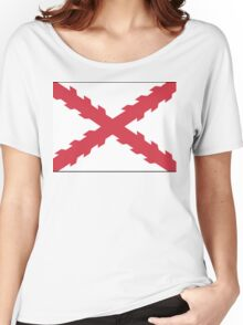 Cross of Burgundy Women's Relaxed Fit T-Shirt