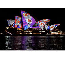 Vivid 2016 Opera House 37 Photographic Print