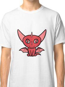 Dragon Chibi (Red) Classic T-Shirt