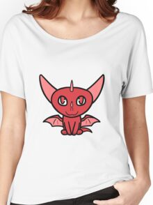 Dragon Chibi (Red) Women's Relaxed Fit T-Shirt