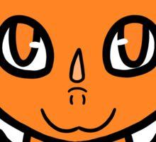 Dragon Chibi (Orange) Sticker
