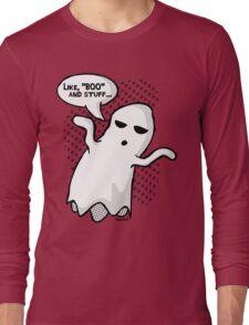 BOO and Stuff Long Sleeve T-Shirt