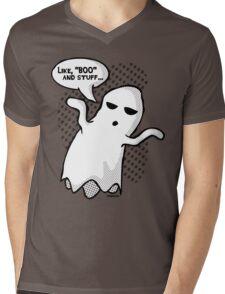 BOO and Stuff Mens V-Neck T-Shirt