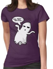 BOO and Stuff Womens Fitted T-Shirt