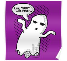 BOO and Stuff Poster
