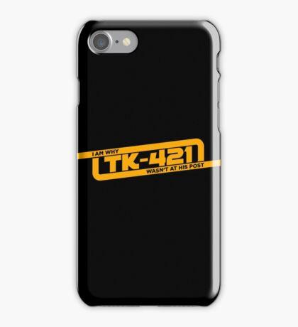 TK-421 iPhone Case/Skin