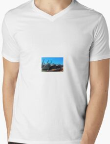 Federal Government Disaster Response Ships Mens V-Neck T-Shirt