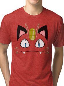 Meowth Tri-blend T-Shirt