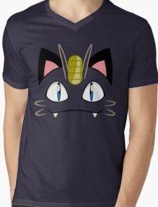 Meowth Mens V-Neck T-Shirt