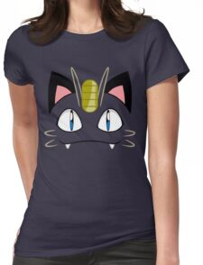 Meowth Womens Fitted T-Shirt