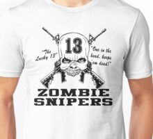 Zombie Snipers Light Unisex T-Shirt