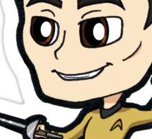 Star Trek TOS - Lieutenant Hikaru Sulu Chibi Sticker