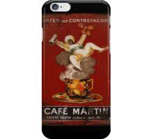 Cafe Martin Coffee Genie Coffee iPhone Case/Skin