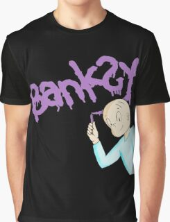 Harold and the purple banksy Graphic T-Shirt