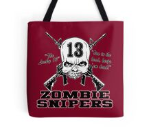 Zombie Snipers Light Tote Bag