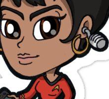 Star Trek TOS - Communications Officer Nyota Uhura Chibi Sticker
