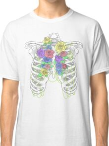 Pastel Flower Cage Classic T-Shirt