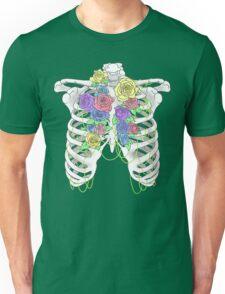 Pastel Flower Cage Unisex T-Shirt