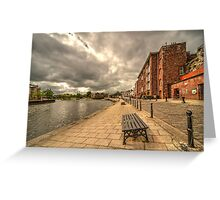Exeter Quay  Greeting Card