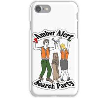 Amber Alert Search Party iPhone Case/Skin
