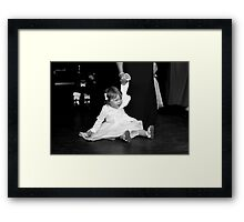 You said there would be cake!!! Framed Print
