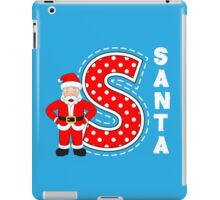 'S' is for Santa! iPad Case/Skin