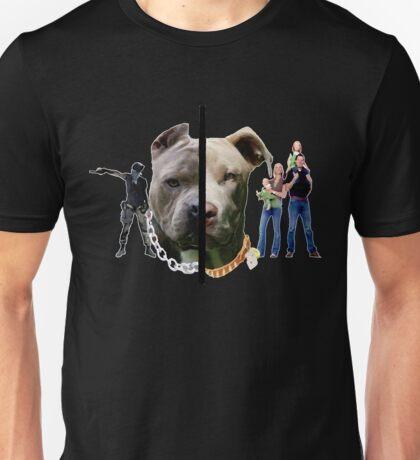 Pitbull Sides Unisex T-Shirt