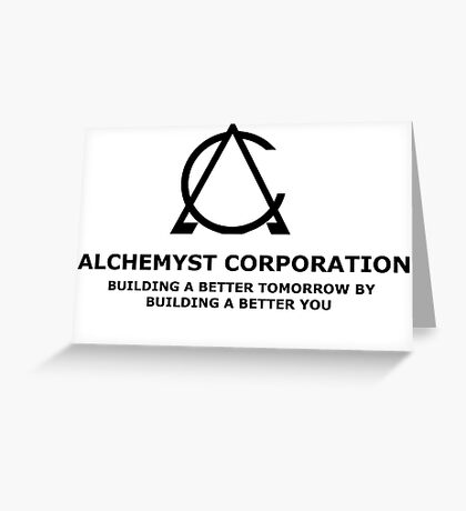 Alchemyst Corporation Greeting Card