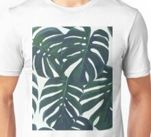monstera leaves Unisex T-Shirt