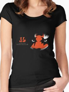bengals Women's Fitted Scoop T-Shirt