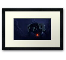 Who Nukes an Angel? Framed Print