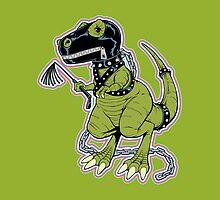 Rex the Tyrannosaur - LGBT Dinos! by wolfehanson