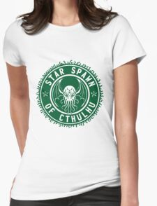 Star Spawn of Cthulhu - classic green Womens Fitted T-Shirt