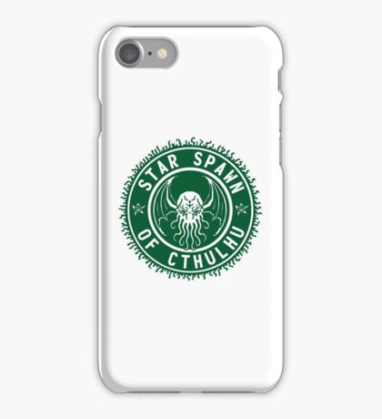 Star Spawn of Cthulhu - classic green iPhone Case/Skin