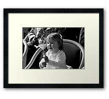 Miles of Smiles! Framed Print