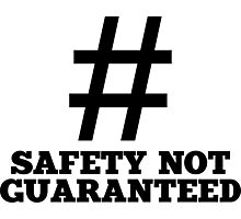 Safety Not Guaranteed Photographic Print